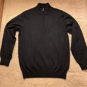 Men's L.L. Bean Quarter Zip Sweater